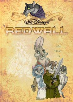Disney Redwall by Professor-R.deviantart.com on @deviantART