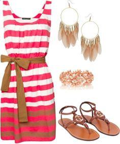 Love the dress... SUMMER