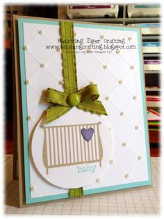 """Hi!  I'm Mindy, a former athletic trainer and fitness instructor turned SAHM to an adorable toddler.  In my """"free time"""" (haha) I love to stamp and paper craft!  I'm a Stampin Up demonstrator and would LOVE to show you how to be creative with ink and paper and maybe some glitter ;-)"""