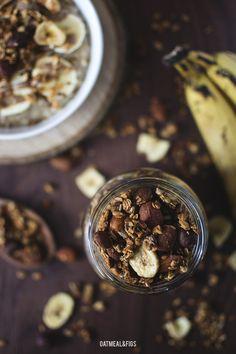 Granola bananowa bez cukru
