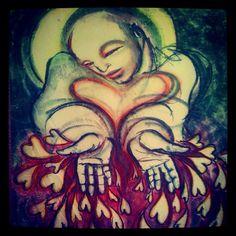 Touch drawing by Deborah Koff-Chapin
