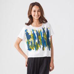 ペイント柄Tシャツ