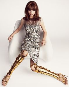 Karlina Caune for Tom Ford s/s 2013