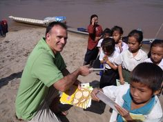 Baraka Community Partnerships providing children in rural Laos access to books by funding a book boat to travel the river and its' tributaries #FridayFund #Giving #Fundraising #Laos