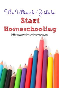 Here are some important things to know that I wish I had known to start homeschooling our children.