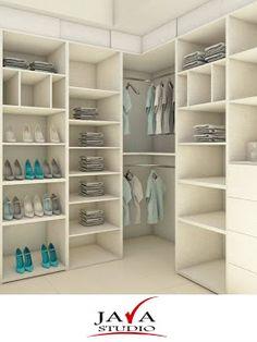 Propuesta de #Vestidores #JavaStudio Wardrobe Cabinet Bedroom, Corner Wardrobe, Bedroom Closet Design, Wardrobe Cabinets, Master Bedroom Closet, Bedroom Wardrobe, Wardrobe Closet, Closet Designs, Dressing Room Closet