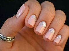 Elegant and Classy nails for a date night!