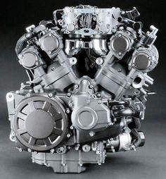 Make a custom bike with the Yamaha V motor.