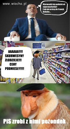 Wiocha.pl - absurdy internetu Best Memes, Haha, Humor, Funny, Anime, Languages, Poland, Cheer, Ha Ha