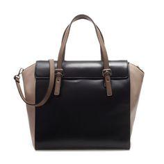 SHOPPER BAG WITH BUCKLES - Large handbags - Handbags - Woman   ZARA India
