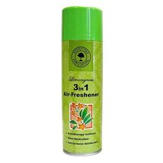 3 In 1 Air Freshener (Lemon Grass) Handy, easy to use for both small and large areas. Fragrance lasts upto 2 hours in closed, air conditioned rooms. Eco Friendly & non toxic propellant.
