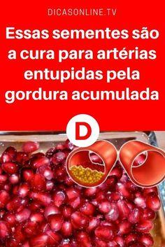 Arterias entupidas | Essas sementes são a cura para artérias entupidas pela gordura acumulada | É incrível como as sementes desta fruta podem limpar todas as suas artérias! E os médicos não dizem.