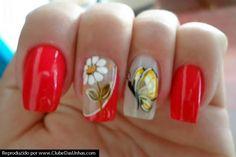 As unhas decoradas com flores e borboletas são famosas pela sua delicadeza e pelo seu charme. Hoje vamos ver alguns modelos e como fazer algumas dessas dec