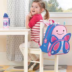 Skip Hop Zoo Little Kids & Toddler Backpack, Butterfly, Pink Toddler Backpack, Diaper Backpack, Diaper Bags, Animal Backpacks, Kids Backpacks, Mochila Skip Hop, Baby Room Closet, Skip Hop Zoo, Baby Bath Seat