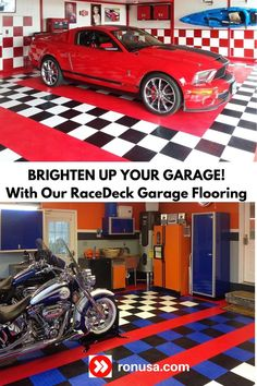 Our RaceDeck Garage Flooring is the easiest and best DIY garage flooring that you can buy.