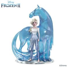 Disneys World Of FROZEN Figurine Collection Featuring A Polished Mirrored Base & Adorned With Swarovski Crystals Elsa Frozen, Disney Frozen 2, Frozen Movie, Frozen Birthday Party, Frozen Party, Birthday Cake, Frozen Toys, Frozen Stuff, Disney Artwork