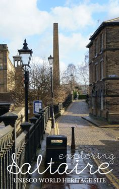 Visiting UNESCO World Heritage Site Saltaire, West Yorkshire, UK