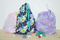 Lily's Little Factory - Blog DIY - Bretagne: Des Sacs Minute En Tissus Pour Jouets