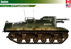 Canadian Self-Propelled Guns Sexton