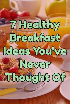 7 Healthy Breakfast Ideas You've Never Thought Of >> http://nutritionpowered.com/7-healthy-breakfast-ideas-youve-never-thought/