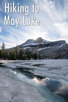 If you are looking for an easy hike with a fantastic payoff on Tioga Pass, then look no further than May Lake. At a quick 2.4 miles round trip (when the road to the trailhead is open),