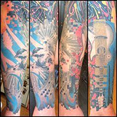 tattoo pixel digital