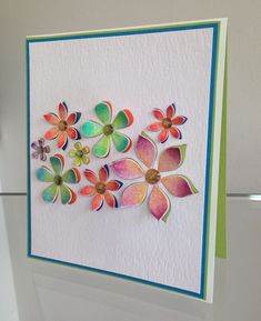 Gorgeous card by Kathy Racoosin using Brand New Simon Says Stamp from the Pure Sunshine release.  May 2014