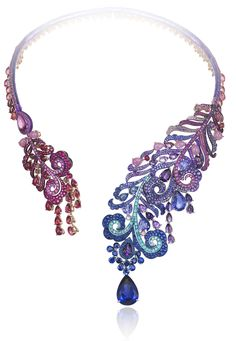 Chopard - Haute Joaillerie Necklace | GF Luxury I www.gf-luxury.com...
