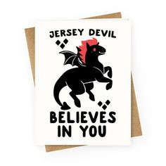 114 best greeting cards images on pinterest in 2018 greeting cards jersey devil believes in you greeting card lookhuman m4hsunfo