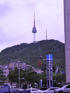Seoul Tower, downtown Seoul, South Korea... Been there! New years 2011 :)