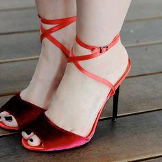 Annie of The Fashion Poet in the Shoe Cult Let's Celebrate Velvet Heel    Get the heels: http://www.nastygal.com/product/shoe-cult-lets-celebrate-velvet-heel?utm_source=pinterest&utm_medium=smm&utm_term=ngdib&utm_content=the_cult&utm_campaign=pinterest_nastygal