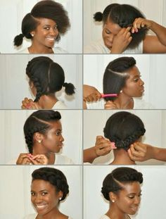 Flat twist crown