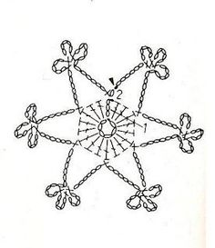 U Kathryn: Szydełkowe płatki śniegu -wzory (Crochet snowflakes -patterns)