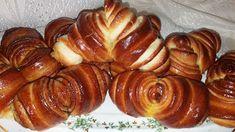 Rozi Erdélyi konyhája: Croissant, másként Croissant, Pretzel Bites, Baked Potato, Sausage, Potatoes, Bread, Baking, Cukor, Ethnic Recipes