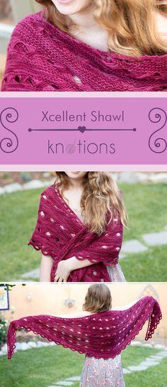 Xcellent Shawl - knotions
