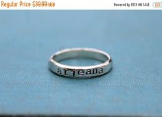 HOLIDAY SALE Personalized Sterling Silver by ArmoredJewelry