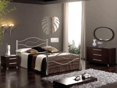 Modern king bedroom sets can be the good things that you can choose if you really adore the classy and also elegant looks. With adding this bedroom sets king bedroom furniture sets, king size bedroom sets, modern bedroom sets Romantic Bedroom Design, Grey Bedroom Design, Small Bedroom Designs, Bedroom Furniture Design, Small Bedrooms, Bed Designs, Modern Bedrooms, Dark Furniture, Modern Room