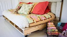 Bed Cheap: Bohemian style Pallet bed