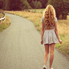 crop top high waisted skirt keds(?)