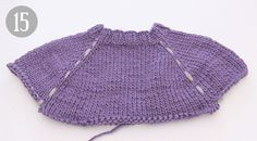 How to work a sweater top down - DROPS Lessons / Knitting lessons Crochet Kids Scarf, Crochet Cardigan Pattern, Crochet For Kids, Knit Crochet, Knitting Charts, Knitting Patterns Free, Free Pattern, Drops Design, Knitting Baby Girl