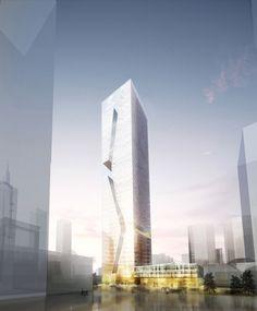 Bustler: Studio Fuksas Wins Shenzhen Guosen Securities Tower Competition
