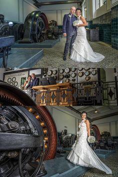 Auch ein Wasserkraftwerk kann eine beeindruckende Kulisse für Hochzeitsfotos sein.  #Hochzeit #wedding #Hochzeitsfoto #weddingpicture #Wasserkraftwerk #Location #Steyr #Hochzeitsfotograf Steyr, Location, Mermaid Wedding, Wedding Dresses, Fashion, Wedding Photography, Getting Married, Bride Dresses, Moda