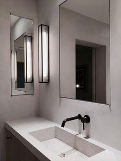 EN Apartment Bathroom by Marc Merckx Interiors