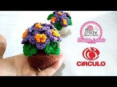 Vasinho de Flor Amigurumi Crochê Passo a Passo Claudete Azevedo - YouTube
