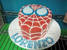 Bolo-Decorado-Homem-Aranha/Spiderman Cake
