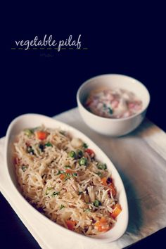vegetable pulao recipe - simple, aromatic and healthy veg pulao recipe with step by step photos.