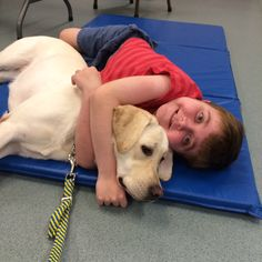 August 2015 ~ After a 2 year process of interviews, doctors notes, paper work, visitor days at the Canine Companions facility and a waiting list we finally have a service dog to help Anthony!