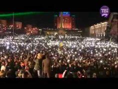 ▶ yevromaydan Ukraine kiev concert concierto 2013 12 14 Київ Гімн України 200 тисяч людей на Євромайда - YouTube