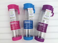 Outnumbered 3 to 1: It's Easy to be Green With Glasstic Glass Water Bottles & Giveaway