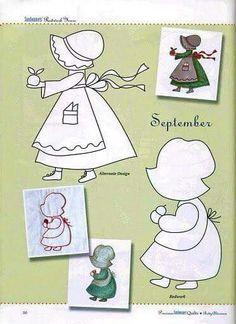Patrón meses del año septiembre